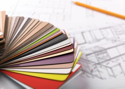 choix des materiaux des couleurs